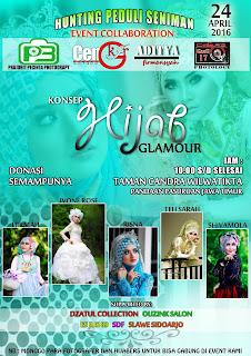 Hunting Fotografi Hijab Glamour di Pasuruan