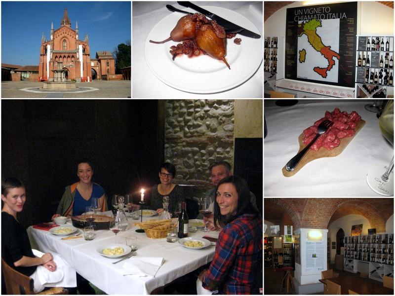 Weinwaisenhaus (Universität), Osteria in Pollenzo, rohe Kalbsleberwurst, Abendessen | Arthurs Tochter Kocht by Miriam Zils