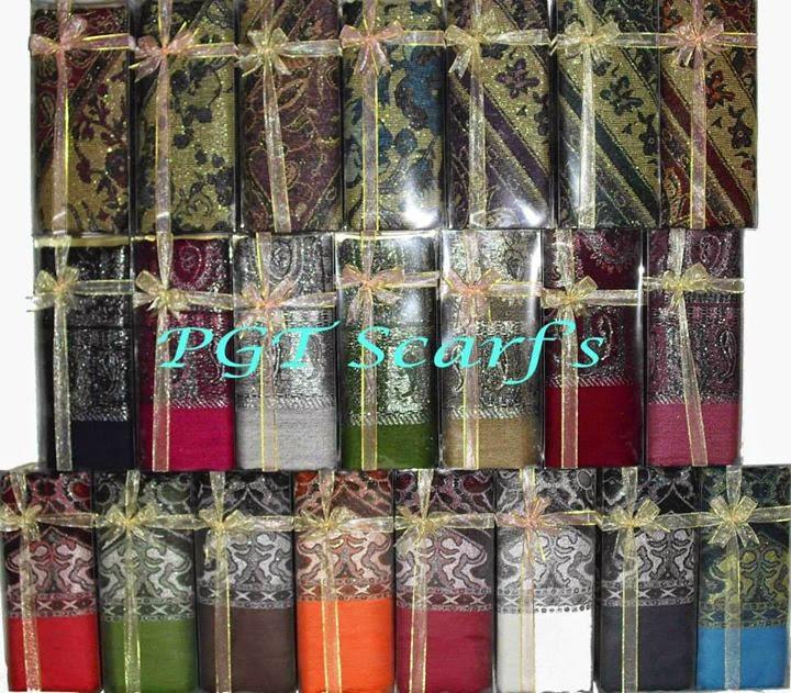 souvenir pashmina batik