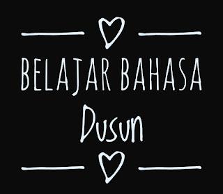 Belajar Bahasa Dusun