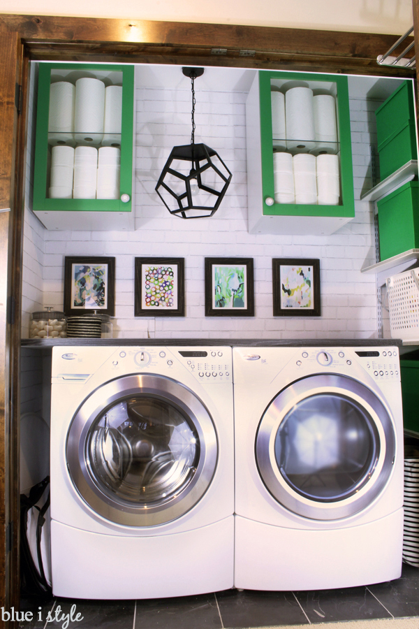 Laundry Room Closet Makeover Decor Organization