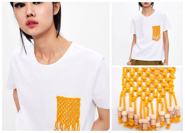 camisetas, customizar, transformación, diys, labores, bricomoda