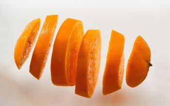 Wallpaper: Slices of orange