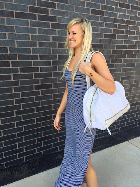 lululemon-refresh-maxi-dress blue-stripe