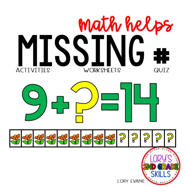 Missing Numbers Activities