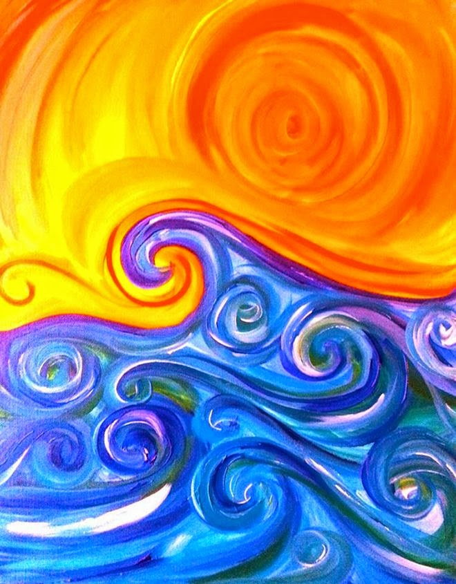 Pics For > Warm And Cool Color Art