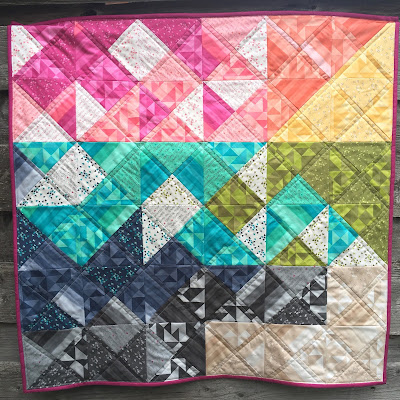 quarter square triangle quilt