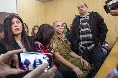 Israel reduz a pena do soldado que atirou em palestino