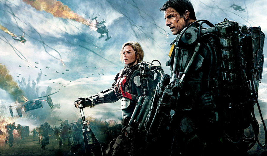 Tom Cruis şi Emily Blunt încearcă să oprească invazia extratereştrilor în filmul sci-fi Edge Of Tomorrow