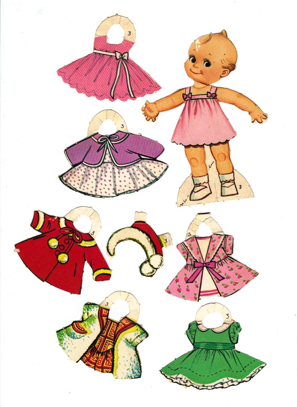 ☆Sharon's Sunlit Memories☆: Kewpie Paper Dolls