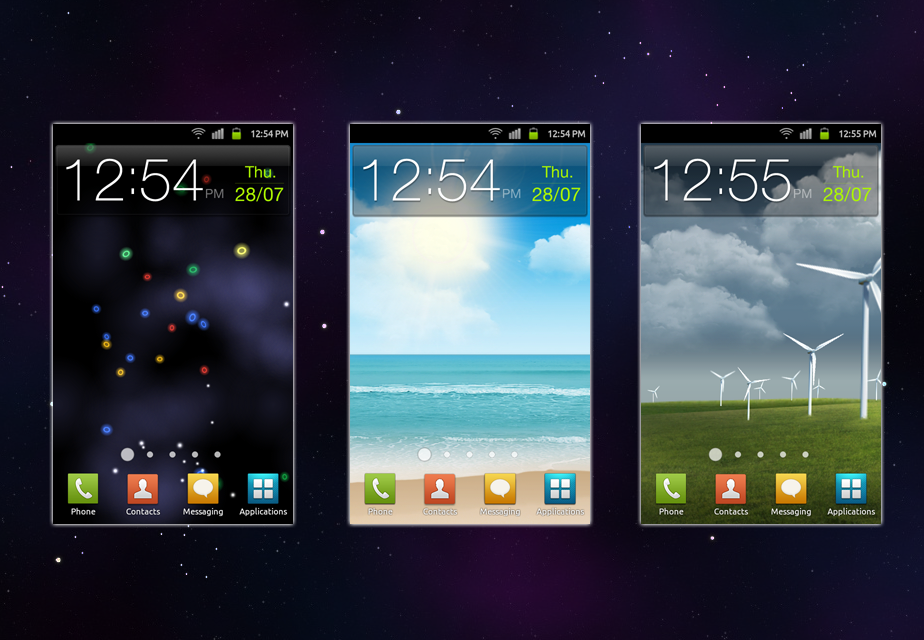 Kiarichiki Themes: Samsung Galaxy S2 original wallpapers