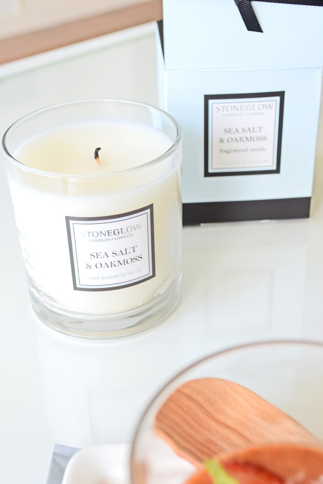 Candle Sea Salt & Oakmoss