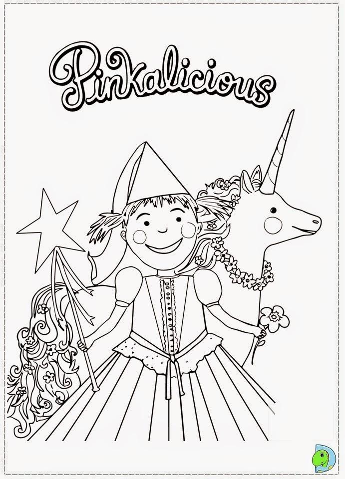 Dinokids - Desenhos para colorir: Desenhos de Pinkalicious ...