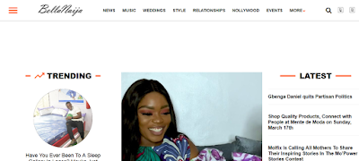 top blogs in Nigeria - Bella Naija