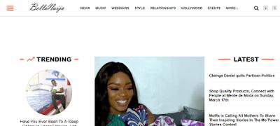 top blogs in Nigeria - Bella Naija