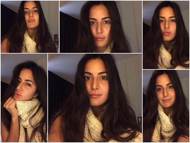 Katrina Kaif Shares Cute Selfies on Instagram