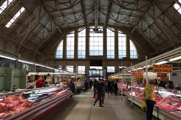 riga food tour marché central market