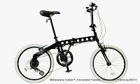 Sepeda Lipat DOPPELGANGER 231 Hydrogen 20 Inci