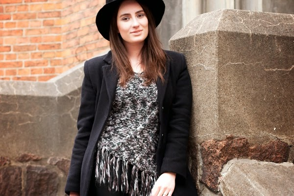Fringed and Knitted