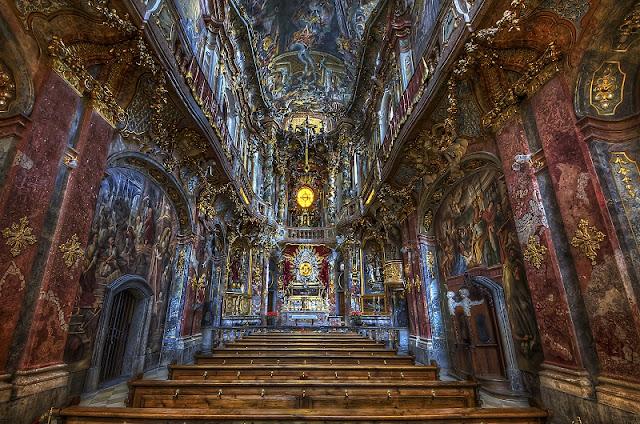 Igreja Asamkirche em Munique