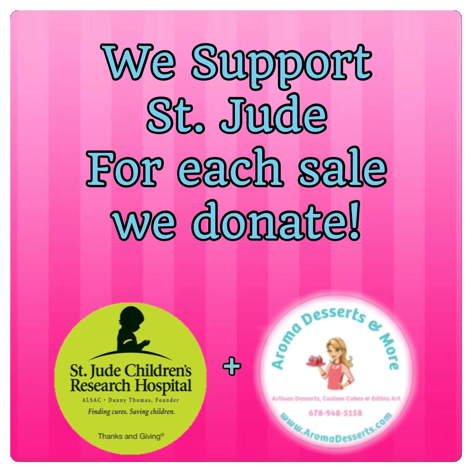 We Support St. Jude Children Research Hospital