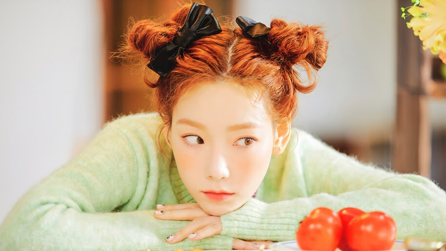 Taeyeon, Happy, Cute, Girl, 4K, #4.2798