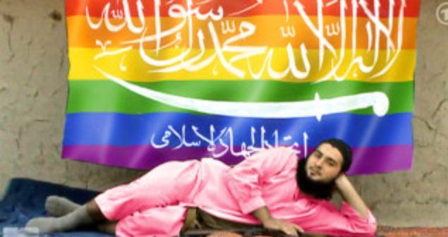 Hackers postam bandeiras do arco íris em contas do ISIS