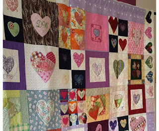 The Quilt of Memories - Festival of Quilts 2017