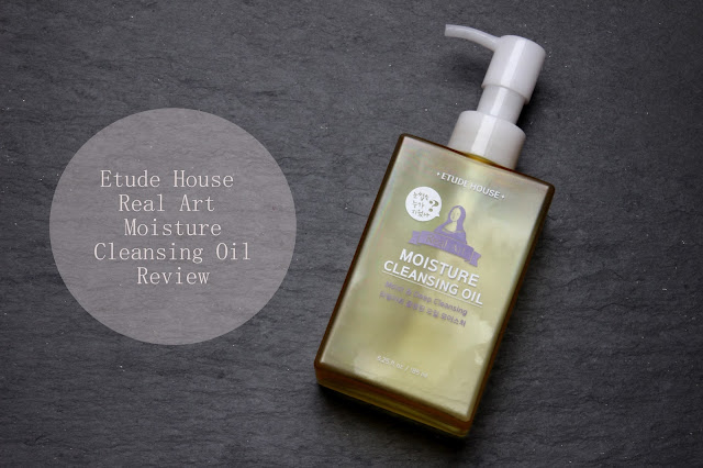 Review: Etude House Real Art Moisture Cleansing Oil