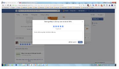 đánh giá tốt trang để SEO fanpage facebook hiệu quả