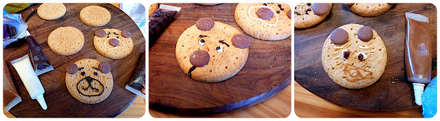 decorating biscuits with kids
