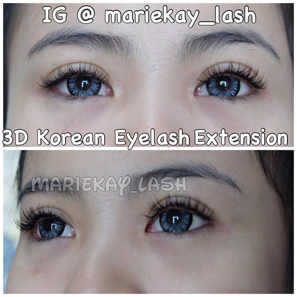 3d Korean Eyelash Extension June 2016