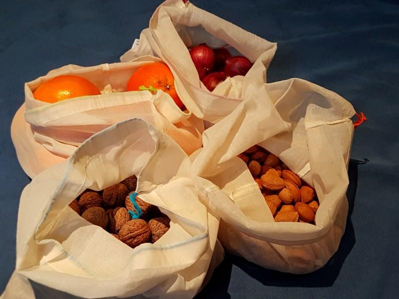 Sacos para a fruta
