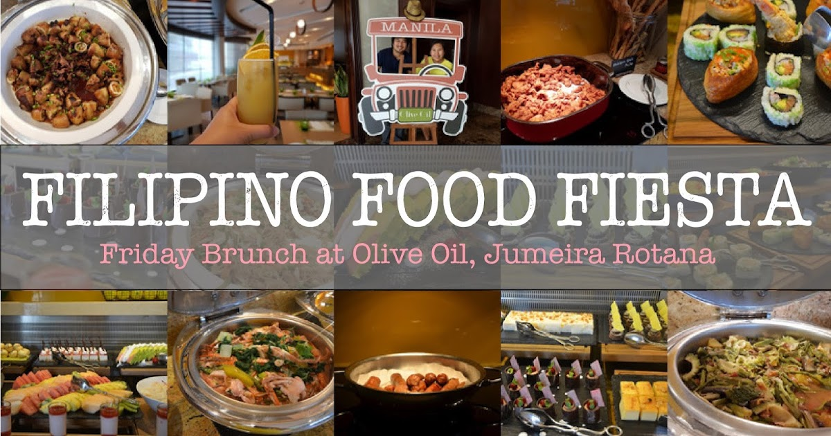 Filipino Food Fiesta Brunch At Jumeira Rotana