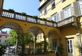 Una de las casas de Lucca.