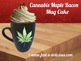 Maple Bacon Mug Cake