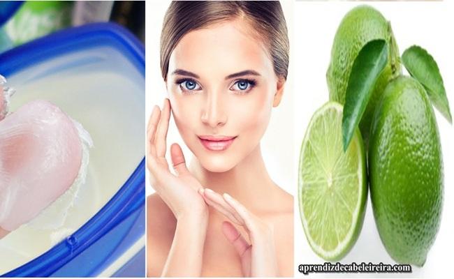 Vaselina e Limão para Eliminar Rugas e Manchas do Rosto