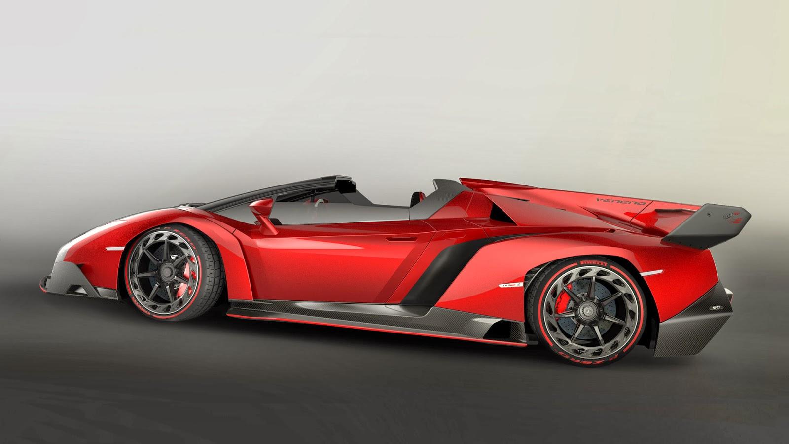Green Energy Holding: Lamborghini Veneno Roadster from CES ...