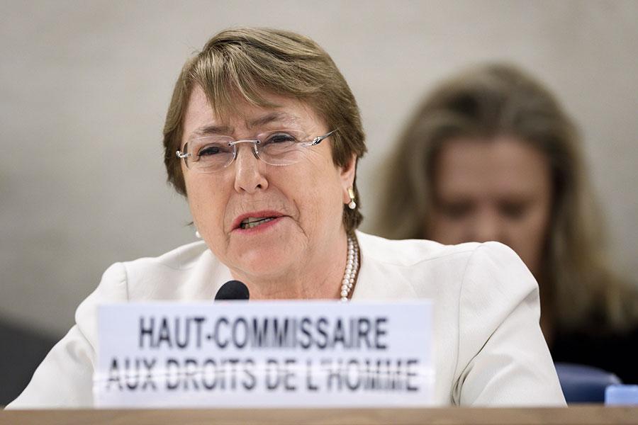 La expresidente chilena volvió a asumir un cargo en la ONU tras su segundo mandato / AFP