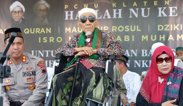 Mbah Moen Ungkap Filosofi Tanggal Kemerdekaan Indonesia