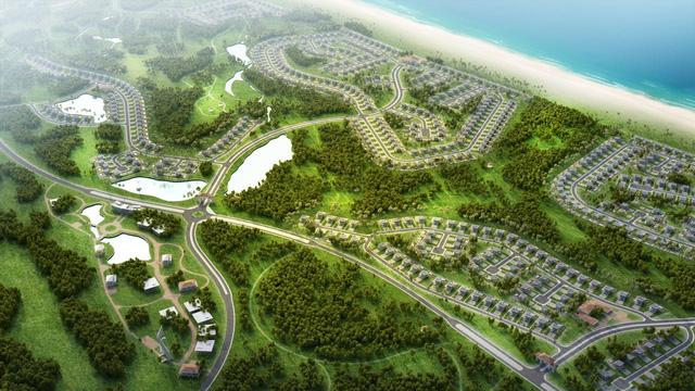Phối cảnh FLC Quảng Bình Golf Resort