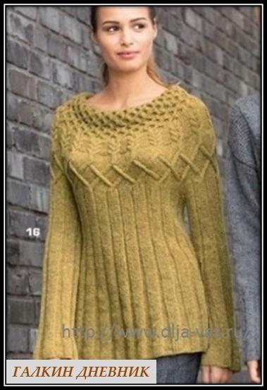 pulover spicami