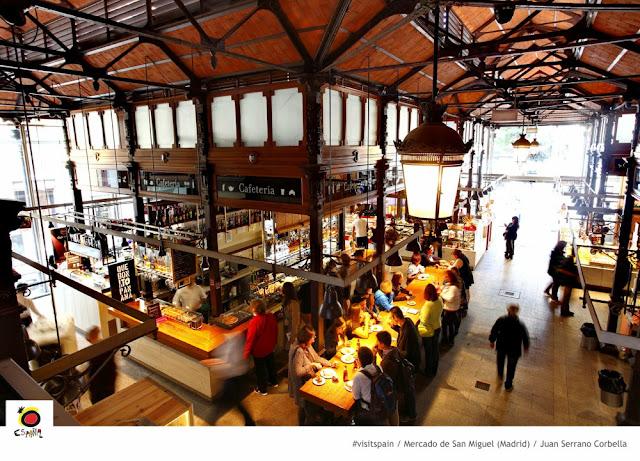 Onde comer em Madri - Mercado de San Miguel