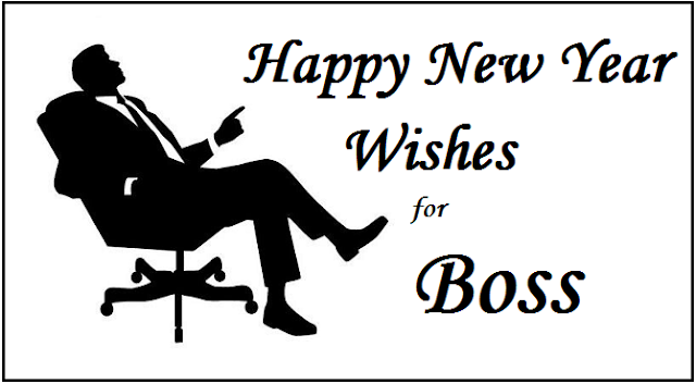 Happy New Year Message For Boss & Colleague