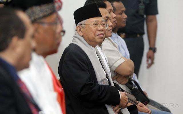 Menohok Banget! Tantangan Kyai Ma'ruf Amin Pada Prabowo yang Koar-koar Soal Elite Gobl*k Bermental Maling: Orangnya Mana?