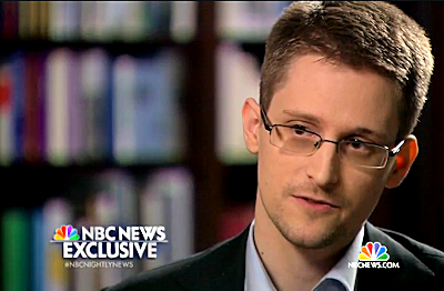 'I Was Trained as a Spy,' says Edward Snowden