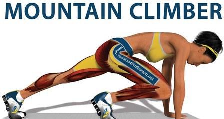 mountain climbers,mountain climber machine,mountain climbers gif,mountain climber plank,mountain climber variations, mountain climber twist, mountain climber movie, mountain climbers abs, mountain climber benefits-get 6 pack abs.