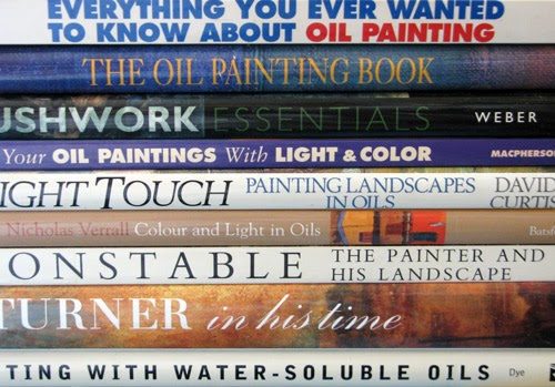 making a mark which are the best books about oil painting