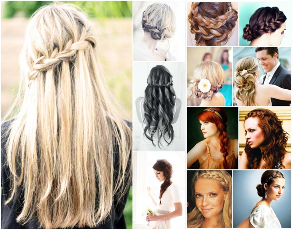 Unique Hair Styles: 15 Plaited Hair Styles Unique 2016 Suitable For All Events