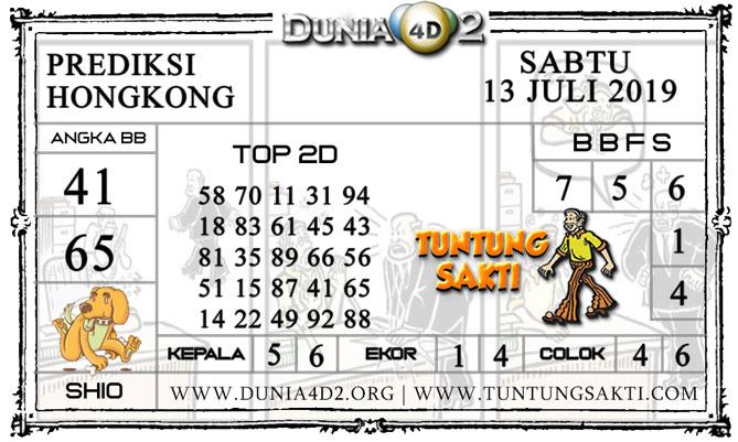 """Prediksi Togel """"HONGKONG"""" DUNIA4D2 13 JULI 2019"""